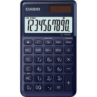 3€09 sur Casio SL 1000 SC NY Calculatrice de poche Bleu  tCt6K