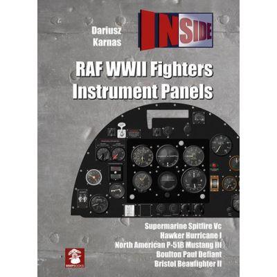RAF WWII Fighters Instrument Panels (Inside) - [Livre en VO]
