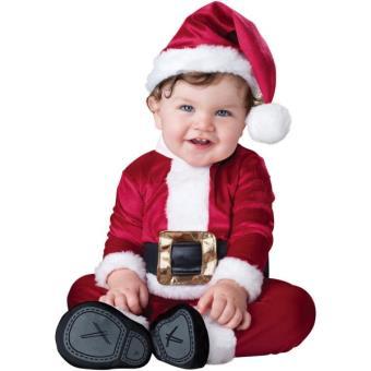 c257a67d3d284 Costume de Père Noël haut de gamme bébé - 12-18 mois - Déguisement enfant -  Achat   prix
