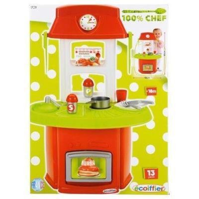 cuisiniere dinette enfant fille jouet chef +13 pcs cuisine jeu eveil