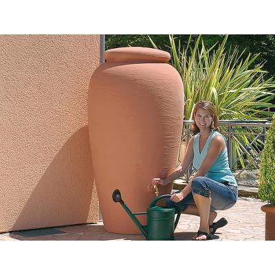 Kit recuperation eau de pluie Amphore terracotta
