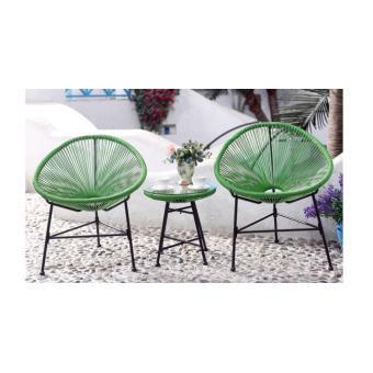 Palmero salon de jardin vert - Mobilier de Jardin - Achat & prix | fnac