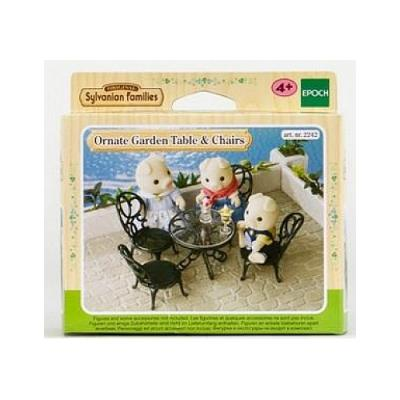 Sylvanian family 2242 : set salon de jardin sylvanian family