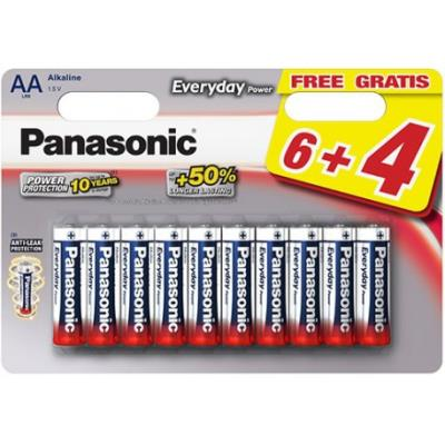 10 Piles Everyday Power LR06 6+4 gratuites