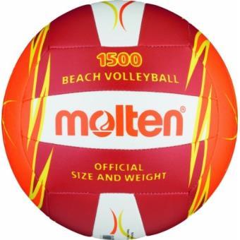 Molten v5b1500-ro ballon de beach-volley multicolore rot weiß orange 5 -  Ballons - Achat   prix  127de197b5f