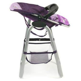 655 Haute Chaise Pour Bayer Chic 28 Purple 2000 Poupées Checker qSzVUMp