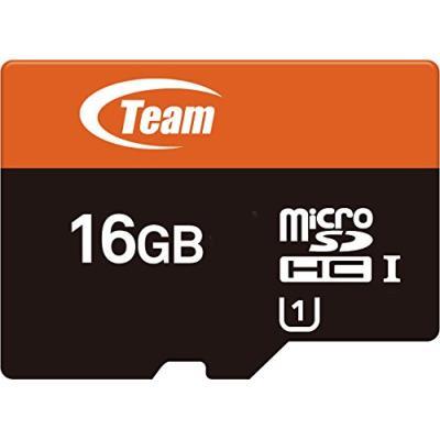 Teamgroup tusdh16guhs03 carte mémoire microsd classe 10 uhs-i 16 go