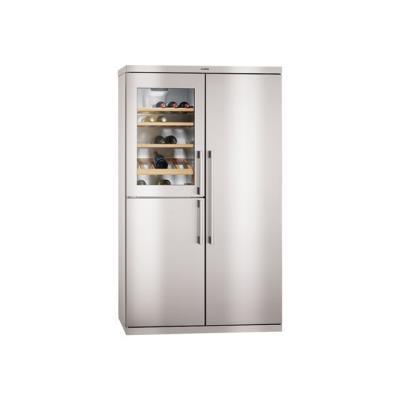 aeg s92700cnmo - réfrigérateur/congélateur/cave à vin - côte-à