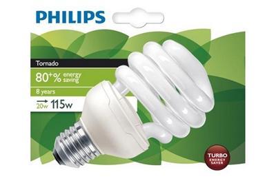 Ampoule PHILIPS Eco85 MinTor 20W E27 827