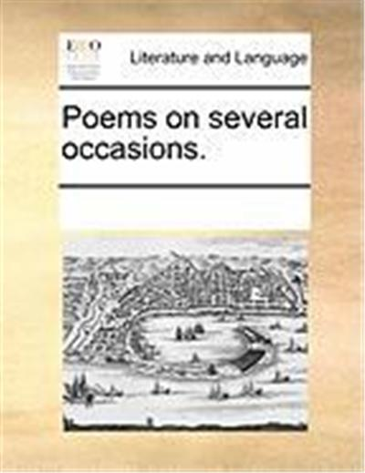 Poems on Several Occasions.