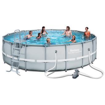 piscine autoportante tubulaire bestway power steel 5m49 1m32 80745 taille unique piscines