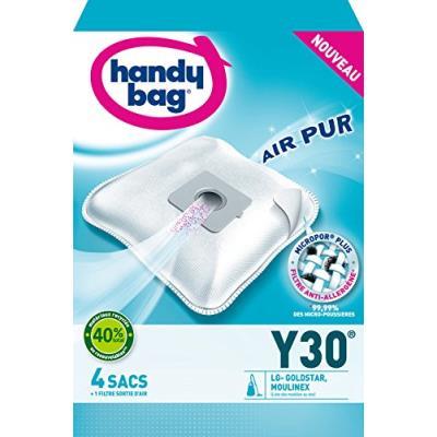 Handy bag y30 sac aspirateur microfibre anti-allergène + filtre moteur lg v3310