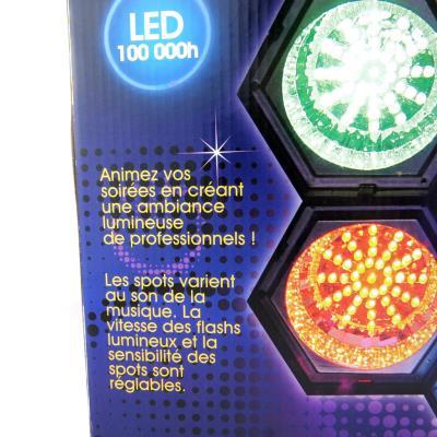 Multicolore6 Led Lampe Spots Disco' ' erBodCx