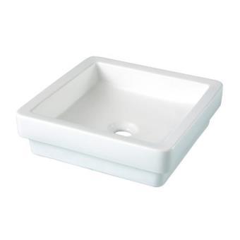 Vasque A Poser Ou Semi-Encastree Carree 38Cm - Rh - Installations ...