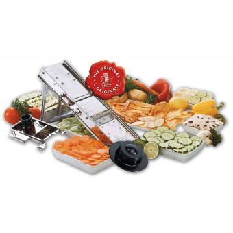 Mandoline cuisine professionnelle 60l avec chariot inox poign e bois bron coucke 20660chb - Prix cuisine professionnelle complete ...