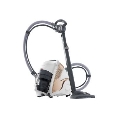 Aspirateur sans sac Polti Unico MCV85 Total Clean and Turbo 2200 W Blanc