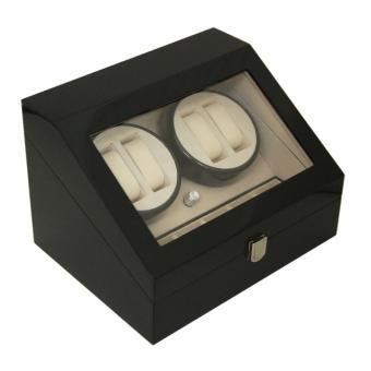 Egodesign boite 10 montres remontoir automatique black for Garage boite automatique 93