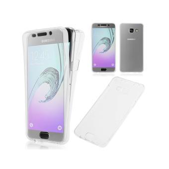 Coque Samsung Galaxy A5 2016 integrale 360 Housse Avant Et Arrière Silicone Gel - Coloris Transparent - Ordica France