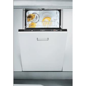 Lave Vaisselle Intégrable Etroit Candy Cedi947 Achat Prix Fnac