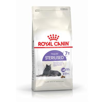 Croquettes pour chats royal canin sterilised 7+ sac 1,5 kg