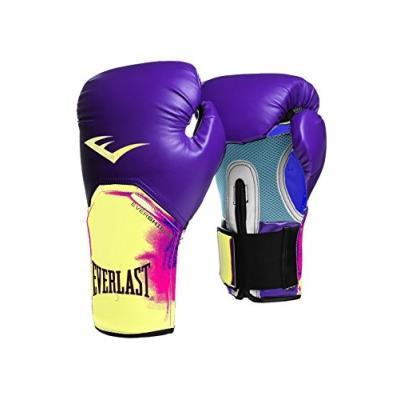 Everlast gants de boxe pour adulte violet jaune, taille m 1300