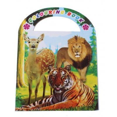 LG-Imports livre à colorier zoo 9 cm