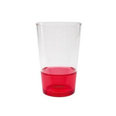 Zak designs - Verre empilable 30 cl - Fizz : Rouge