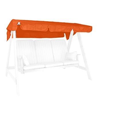 Angerer 9908/11 Auvent Pour Balancelle Orange 190 X 130 Cm
