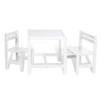 Pinolino chaise enfant banc et table pour enfant timo blanc table et chaise achat for Tables et chaises pour enfants