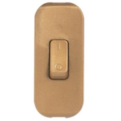 Legrand - Interrupteur Touche Basculante - Vieil Or