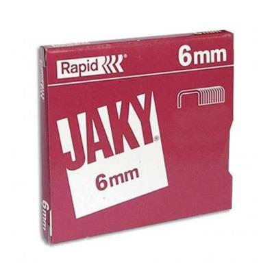 Lot de 6 Boites de 5000 agrafes JAKY6