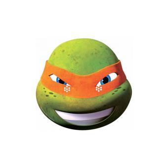 masque en carton michelangelo tortue ninja achat prix fnac - Tortue Ninja