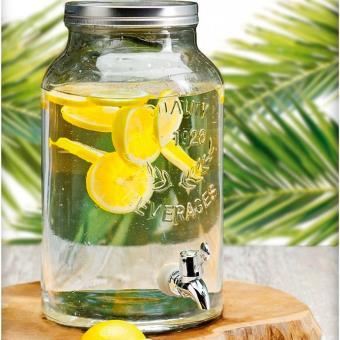 fontaine distributeur boisson en verre 5 5 litres avec robinet achat prix fnac. Black Bedroom Furniture Sets. Home Design Ideas