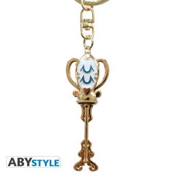 Fairy Tail Porte-clés Figurine 3D Happy 3,5 cm