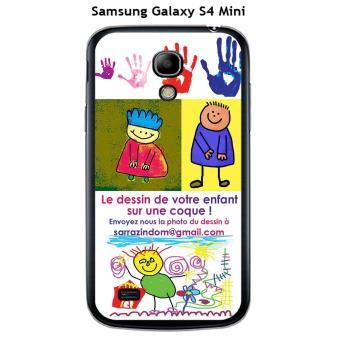 Coque Samsung Galaxy S4 Mini Avec Le dessin de votre enfant