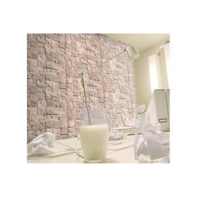Papier peint pierre damier pastel