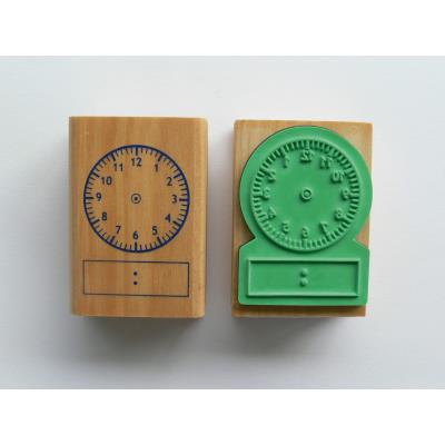 Tampon - Horloge