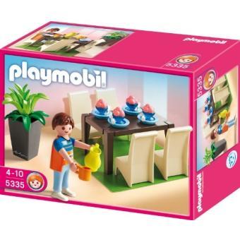 playmobil 5335 jeu de construction salle manger playmobil achat prix fnac