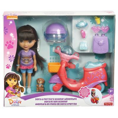 Fisher Price My First Thomas & Friends Dora Et Son Scooter (Dkj91) Mattel