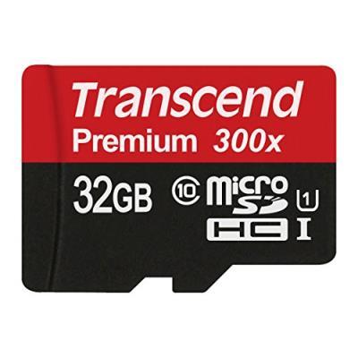 Transcend 32 go carte mémoire microsdhc classe 10 uhs-i ts32gusdcu1
