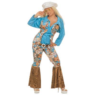 Déguisement Femme Hippie Grande Taille