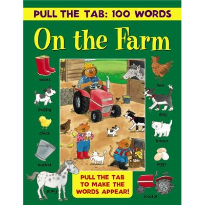 Pull The Tab 100 Words On The Farm