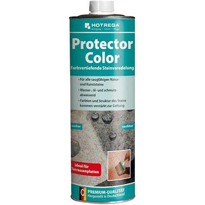 Hortega H220120001 1 litre Couleur Protector – Blanc
