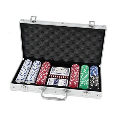 Ak sport - 0603023 - jeu de cartes - coffret de poker en aluminium - 300 pièces