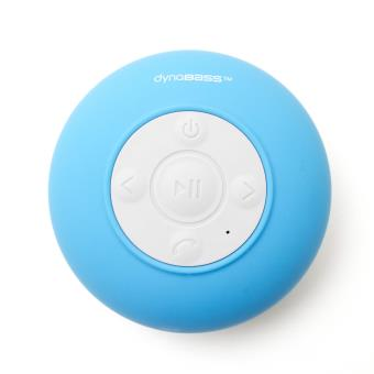 Enceinte Bluetooth étanche Dynabass Aquasound Bleu