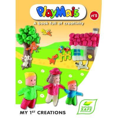 PlayMais - Playmais - Livre : Mes 1ères créations