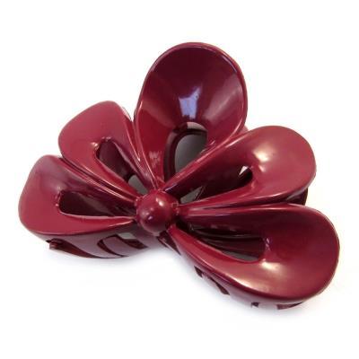 Les Trésors De Lily [M8005] - Pince 'Simplicité' rouge