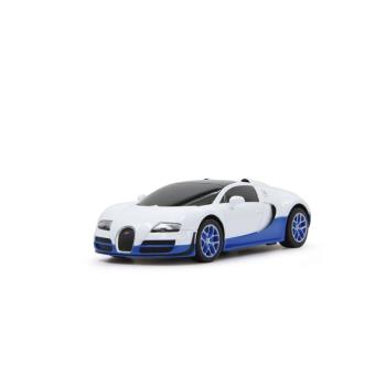 voiture rc bugatti veyron blanche et bleue 1 18 voiture radio command achat prix fnac. Black Bedroom Furniture Sets. Home Design Ideas