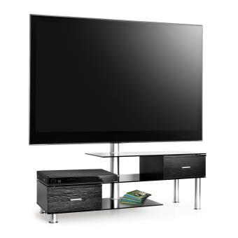 Auna Lk 1 Tv Meuble Table Basse En Verre Support écran Tv Lcd 50