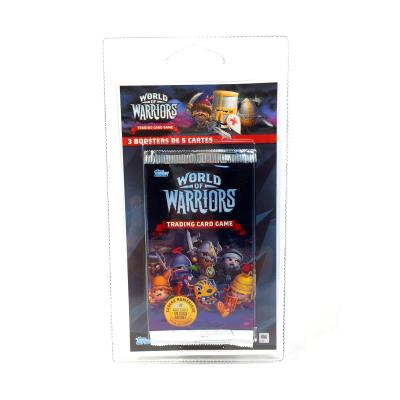 3 boosters World of Warriors